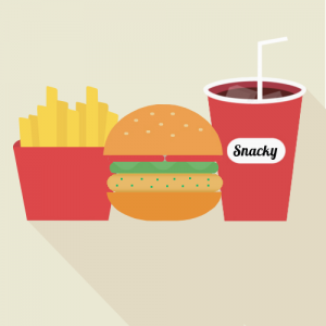 Groenteburger menu