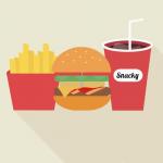 Snacky special burger menu